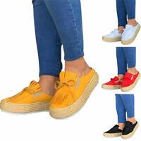 Women Platform Flats Moccasins Loafers Ladies Bowknot Casual Comfy Tassels Shoes