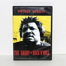 DVD WESLEY WILLIS The Daddy Of Rock'n'Roll 2002 music documentary