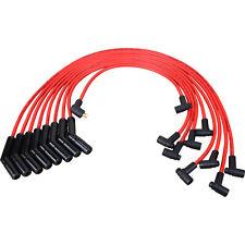Black Ceramic Spark Plug Wire Set For Chevy Small Block Big Block SBC BBC 9018C