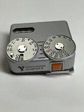 Voigtlander VC Meter II chrome - For Leica