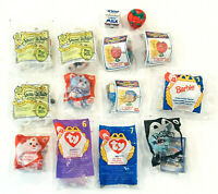 Mixed Lot of 14 McDonalds Happy Meal Toys Vintage 1990s & 2010s