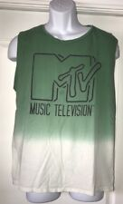 MTV Tie Dyed Tank Top.  Size Large.