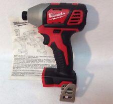 "New Milwaukee M18 18 Volt Li-Ion 1/4"" Cordless Impact Driver Bare Tool # 2656-20"