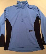 Vintage Women Patagonia Blue R1 Fleece Pullover S Zip Polartec snap t Regulator