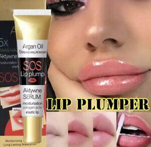 LIP PLUMPER Argan Oil Natural Lip Enhancer PLUMP Hydration New Australian Stock
