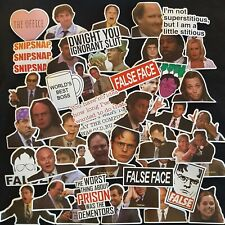 The Office TV Show Stickers Cult Gift Decal Adult Jim Pam Dwight Book PC Laptop