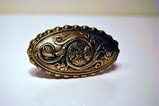 Handle Set Door Bronze Decoration Arabesque Pink Napoleon III