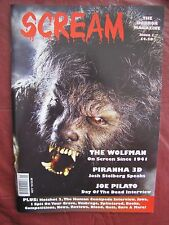 Scream 1 Uncirculated  The Wolfman OUT OF PRINT