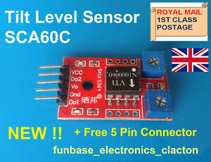 Tilt Sensor Module SCA60C Ideal for Arduino and Picaxe Projects  funbase  400-7