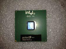 Processore CPU Intel Pentium III SL3VK 667MHz 133MHz FSB 256KB Cache Socket 370