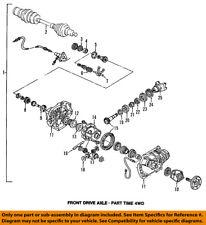 GM OEM Front-Axle Seals 12479302