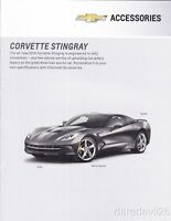 2014 Chevy Corvette Stingray Accessories brochure