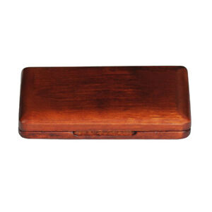 Solid Wood Reed Case Box Holder for Clarinet Saxophone Musical Instrument