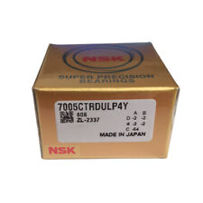 NEW NSK 7012CTRDULP4Y Abec-7 Super Precision Spindle Bearings.Matched Set of Two