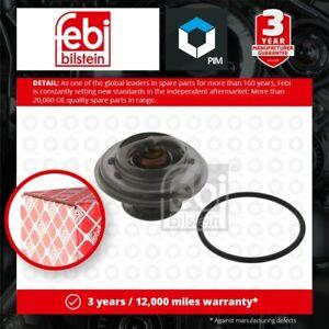 Coolant Thermostat fits BMW 325 E30 2.5 83 to 93 11531265085 11531466173 Febi
