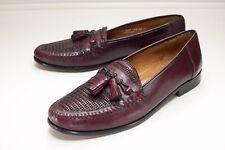 Nordstrom 13 Narrow Burgundy Tassel Loafers Men's Dress Shoes