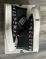 Kith Disney Converse Mickey Chuck Taylor 1970 Leather - Black Men's 9 IN HAND