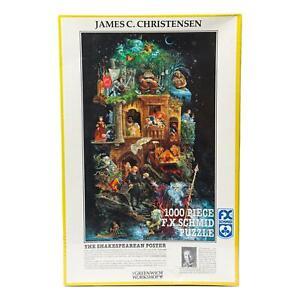 James C Christensen: The Shakespearean Poster 1000 Piece FX Schmid Puzzle New!