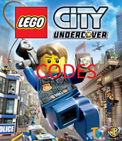 ✔✔✔ Codes LEGO City Undercover PC,PS3,PS4,Xbox 360 + ONE, WII U, Switch