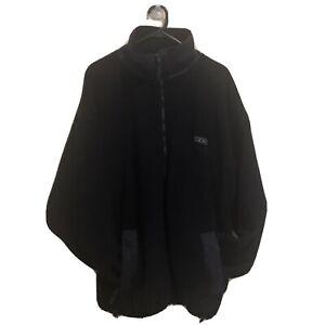 Brooks Jacket Thick Fleece Zip Up Hoodie Size M Fits L Running Jacket