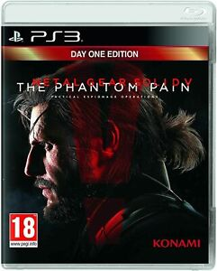 Metal Gear Solid V: The Phantom Pain PS3 - New and Sealed