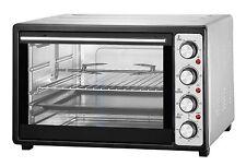 Backofen 43 Liter Drehspieß Umluft Timer Mini  Ofen Pizzaofen Miniofen 2000 Watt