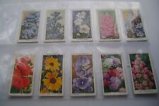 Garden Flowers By R Sudell Issued 1939 Complete Full Set By W.D. & H.O. Wills