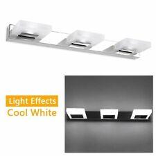Modern Bathroom LED Crystal Mirror Light Front Wall Lamp Fixture Vanity Light