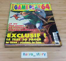 Nintendo Magazine Gameplay 64 N°5