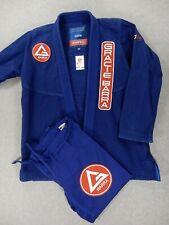 Gracie Barra Equipe Gi Storm Jiu Jitsu (Size A2) Blue