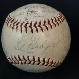 1965 Washington Senators Auto Autograph x 29 Baseball GIL HODGES Sweet Spot *FCJ