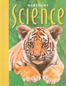 Science 2nd Grade Textbook Hardback Harcourt 2000 edition
