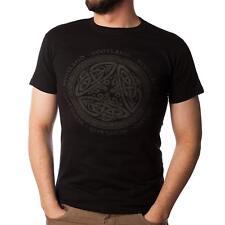 Hombre Escocés Celta Circular Escocia Camiseta Disponible En Varios Talla Opcion