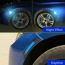 2pcs Car Door Edge Guard Reflective Sticker Tape Decal Safety Warning Accessory