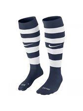 NIKE Football socks size  5 6 7 8 medium adult mens navy  / white new soccer