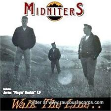 THE MIDNITERS Walk The Line + JUVIES Playing Hookie CD ROCKABILLY psychobilly