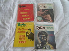 The Ring Boxing Magazine (4) Issues Lot from the Year 1971