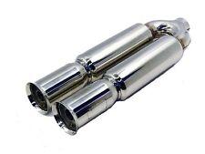 """OBX Dual Muffler DB002 2.5"""" Inlet  25"""" long Universal Exhaust"""
