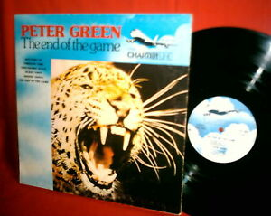 PETER GREEN The end of the game 1970 Italy ultrarare Monster Psych LP MINT-!