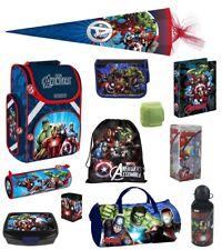 Avengers Schulranzen PL Set 16tlg Sporttasche Federmappe Schultüte Hulk Iron Man