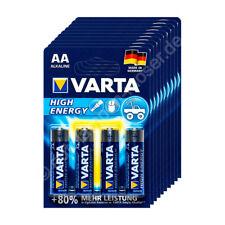 40x Mignon AA / LR6 - Batterie Alkaline, Varta High Energy 4906, 1,5V, 2950 mAh,