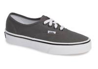 Vans Unisex Authentic Sneakers, Pewter/Black