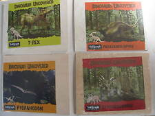 3D Dinosaurs Wooden Puzzles Skeltons Various Wood Press Out Mini Craft T-Rex