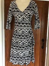 Dress For Work By Mandi Size 8/10 In Black And White