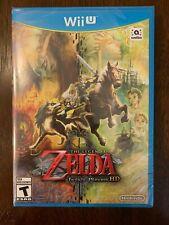 The Legend of Zelda Twilight Princess HD Nintendo Wii U Brand New Sealed