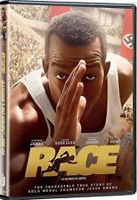 NEW DVD - RACE - JESSE OWENS - Stephan James, Jason Sudeikis, Jeremy Irons,