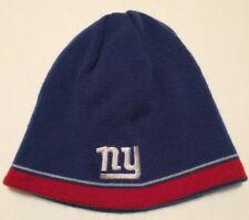 NFL Football New York NY Giants Reebok Reversible Winter Hat Cap Adult One  Size d9576a311