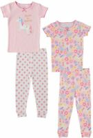 Cutie Pie Baby Toddler Girls 4-pc. Dream Unicorn Pajama Set
