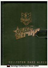 OFFICIAL NRL TRADING CARD ALBUM--2011 SELECT NRL STRIKE ALBUM