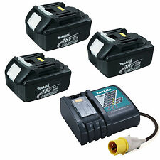 Makita 18v LXT Li Ion Dc18rc Charger and 1 X Genuine Battery Bl1830